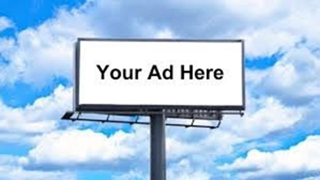 your ad here billboard