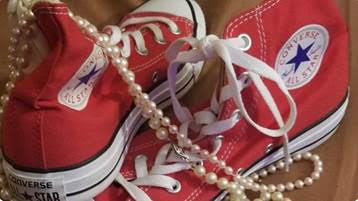 sneakers and pearls